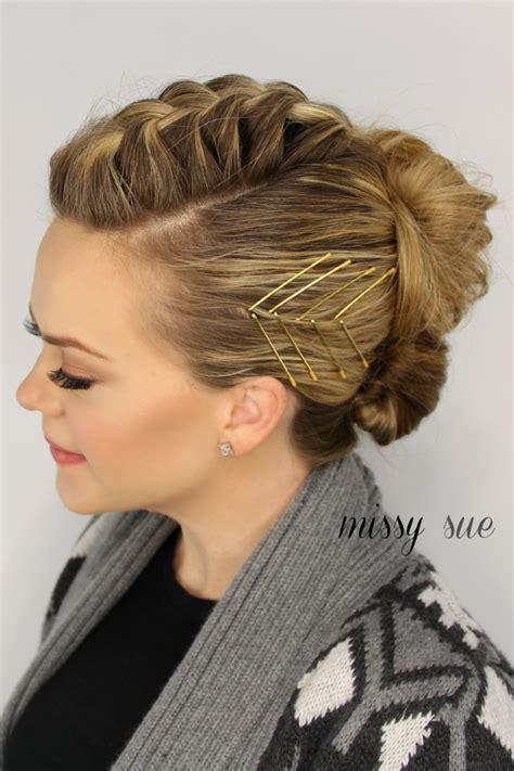 Mohawk Updo Hairstyles by Mohawk Braid Updo Hair Upstyles Braid