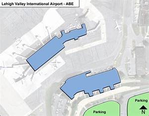 Lehigh Valley Abe Airport Terminal Map