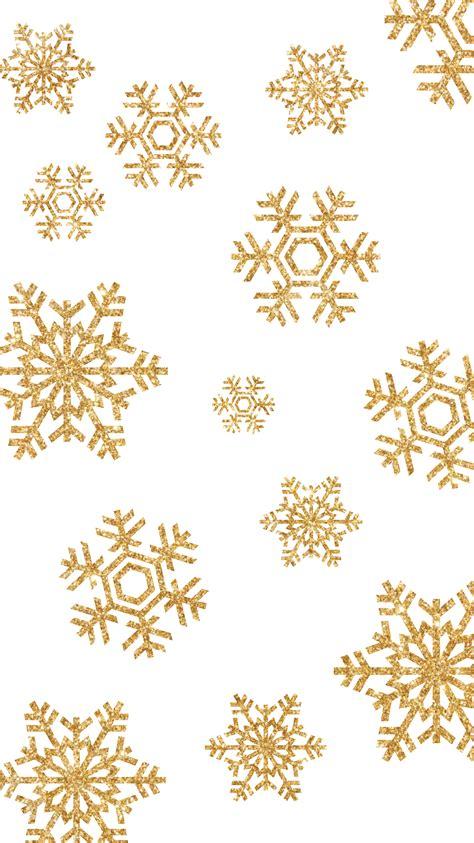 Gold Winter Wallpaper Iphone winter gold snowflake iphone wallpaper winter wallpaper