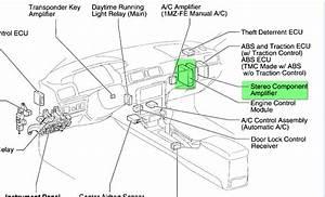 2000 Camry Xle Audio Wiring Diagram