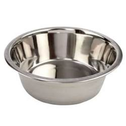 cat water dish stainless steel standard pet puppy cat food or drink
