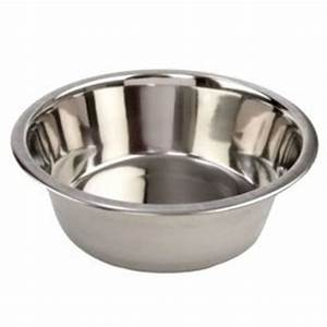 STAINLESS STEEL Standard Pet Dog Puppy Cat Food or Drink ...