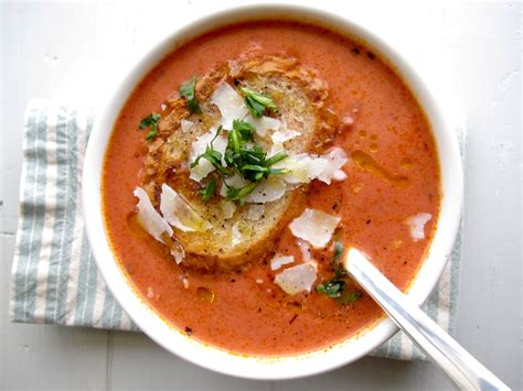 best soup jenny steffens hobick recipes the best tomato basil soup the best grilled cheese dinner ideas