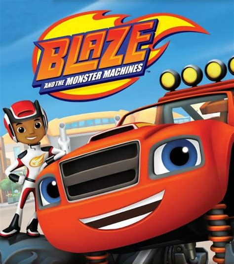 blaze   monster machines tv series