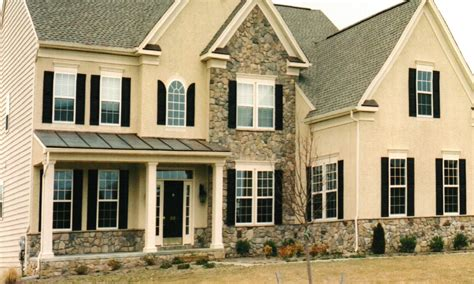 colonial homes colonial homes with stucco and brick and stucco