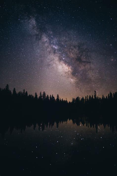Milky Way Over Lassen National Park Photo Thomas