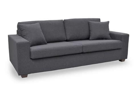 canape 4 places soldes canapé et fauteuil en tissu gris caramel noir yudo