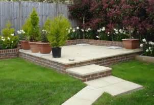 patio garden ideas triyae com backyard landscaping ideas with deck various design inspiration for backyard