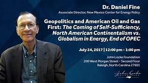 Geopolitics and American Oil and Gas First: The Coming of ...