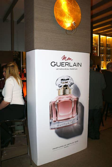si鑒e social guerlain en photos lancement de la nouvelle fragrance quot mon guerlain quot