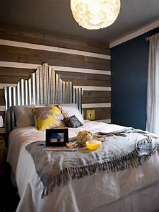 creative upcycled headboard ideas bedrooms bedroom With what kind of paint to use on kitchen cabinets for wall art above headboard