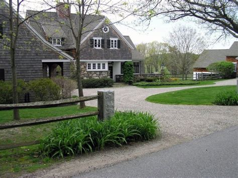 Home Driveway Design Ideas by Top 60 Best Gravel Driveway Ideas Curb Appeal Designs