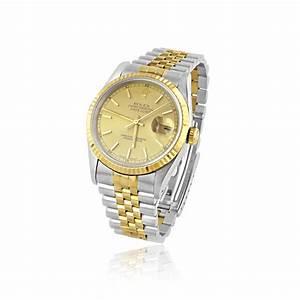 Rolex Oyster Perpetual Damen : mens steel and 18ct gold rolex oyster perpetual datejust watch with gold dial ~ Frokenaadalensverden.com Haus und Dekorationen
