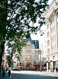 Downtown Victoria BC Canada