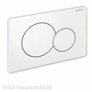 Geberit Drückerplatte Sigma 01 : geberit dr ckerplatte bet tigungsplatte sigma 01 neu wei ebay ~ Orissabook.com Haus und Dekorationen