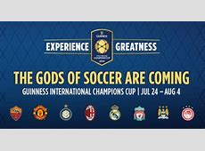2014 International Champions Cup Schedule & Where to Buy