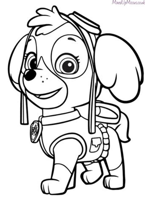 Paw Patrol Colouring In Pages Free Download Mixedupmissus