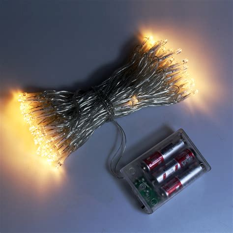 battery operated outdoor fairy lights 10m 80leds battery powered fairy lights led string light