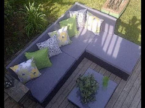 canapé de jardin comment construire un canapé de palette pour le jardin