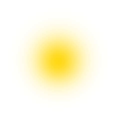 yellow effect png