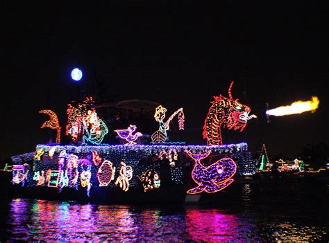 newport light parade cruises newport beach balboa island boat parade 2015
