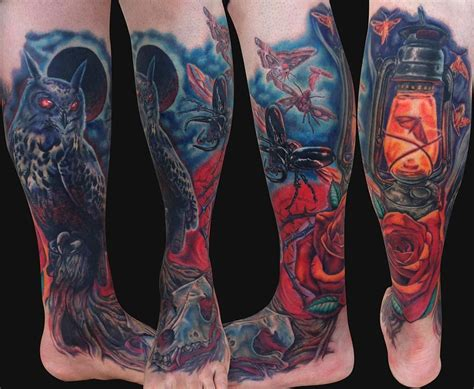 Maybe you would like to learn more about one of these? Leg sleeve tattoo, Leg sleeves, Sleeve tattoos