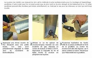 Réparer Une Gouttière En Zinc : descente goutti re en zinc r parer forum charpente ~ Premium-room.com Idées de Décoration