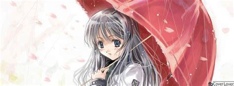 anime umbrella facebook cover fbcoverlovercom