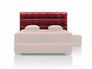 Tete De Lit Rouge : la t te de lit transformera la d co de votre chambre ~ Teatrodelosmanantiales.com Idées de Décoration