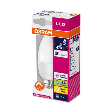 Led Len Osram by The Led Superstar Classic B By Osram