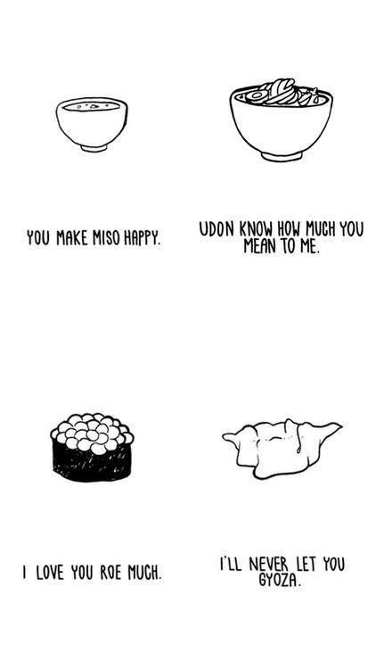 japanese food puns  laugh  food food puns