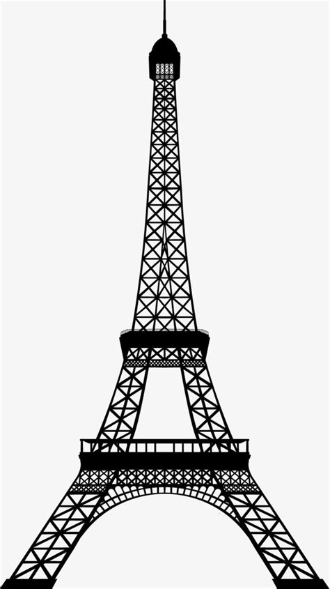 eiffel tower vector png  getdrawings