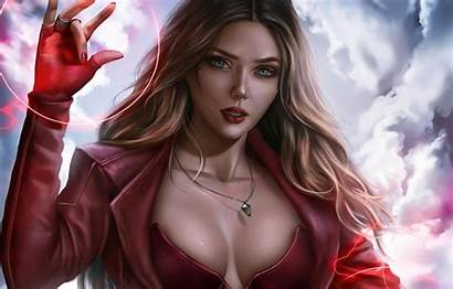 Witch Marvel Scarlet Avengers Cinema Film Cure