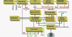 Tn Instrumentation   Lng Process Block Diagram And Key Process