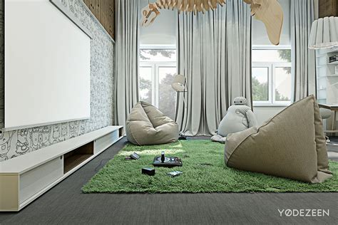 modern beanbag chairs interior design ideas