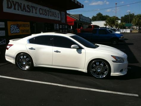 Nissan Maxima Black Rims Nissan Maxima Black Rims With