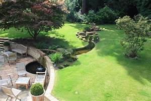 A, Large, Award, Nominated, Garden, With, Water, Feature, Near, Sevenoaks, Kent