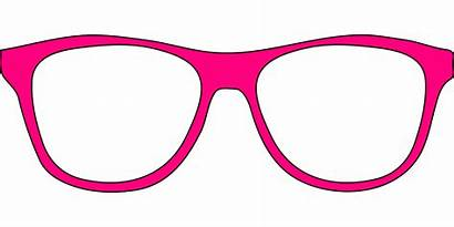 Clipart Eyeglass Glasses Frame Prop Transparent Template