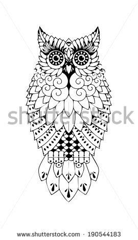 monochrome drawing of an owl | Dessin, Dessin graphique