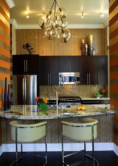 Decorating Ideas Kitchen by Modern Wallpaper For Small Kitchens Beautiful Kitchen