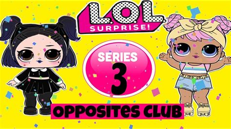 lol surprise series  confetti popopposites club dawn