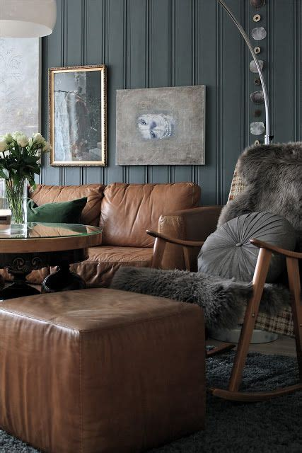 living illusion brown living room decor brown leather
