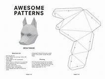 HD Wallpapers Wintercroft Fox Mask Template Free Download