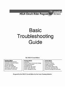 Basic Troubleshooting Guide
