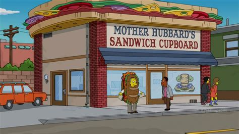 Mrs Hubbards Cupboard by Hubbard S Sandwich Cupboard Simpsons Wiki