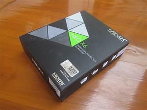 Minix Neo X6 User Manual