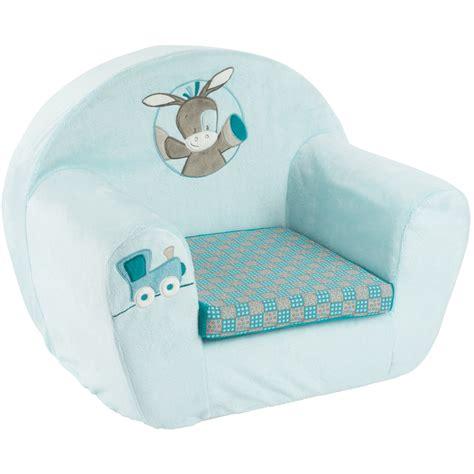 siege mousse bebe fauteuil bébé sofa gaston cyril de nattou chez naturabébé