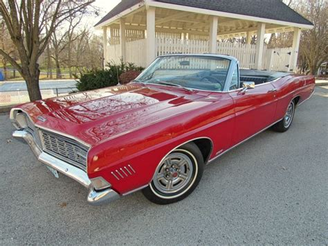 1968 Ford Galaxie 500 by 1968 Ford Galaxie 500 Xl Convertible For Sale On Bat