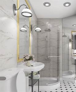 awesome salle de bain retro blanche images amazing house With salle de bain retro chic