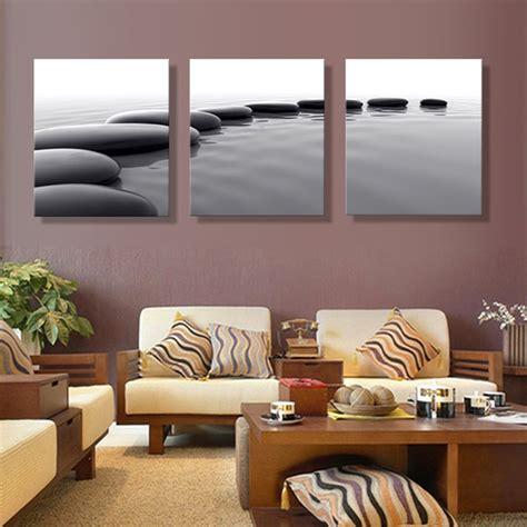 aliexpress com buy art pebbles definition pictures canvas prints home decoration living room